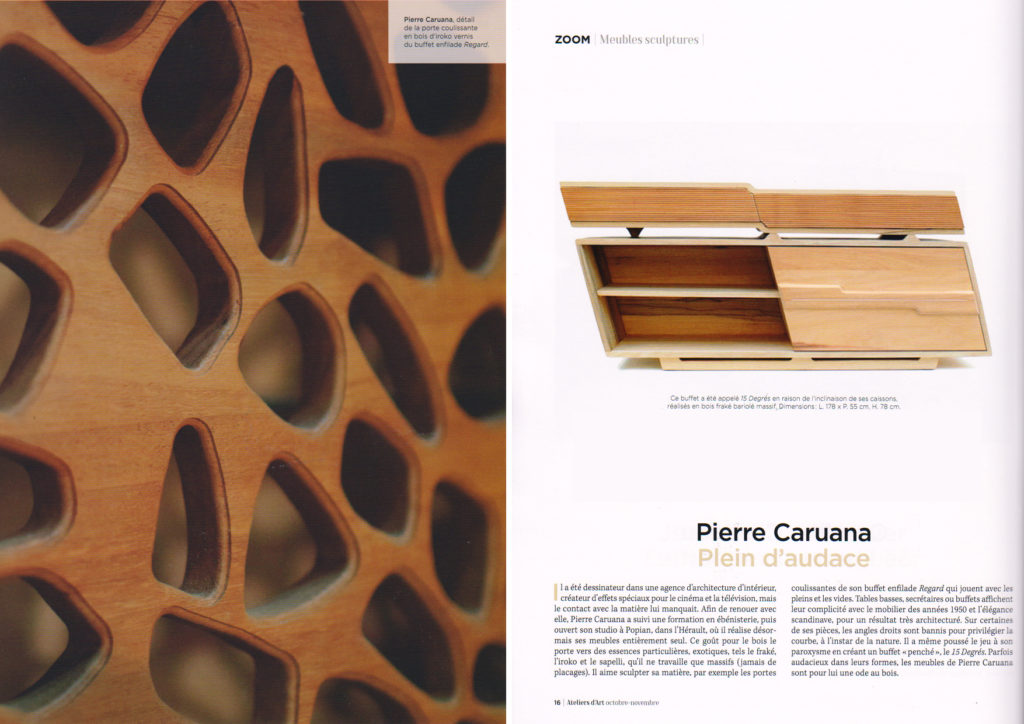 publication magazine des metiers d'art